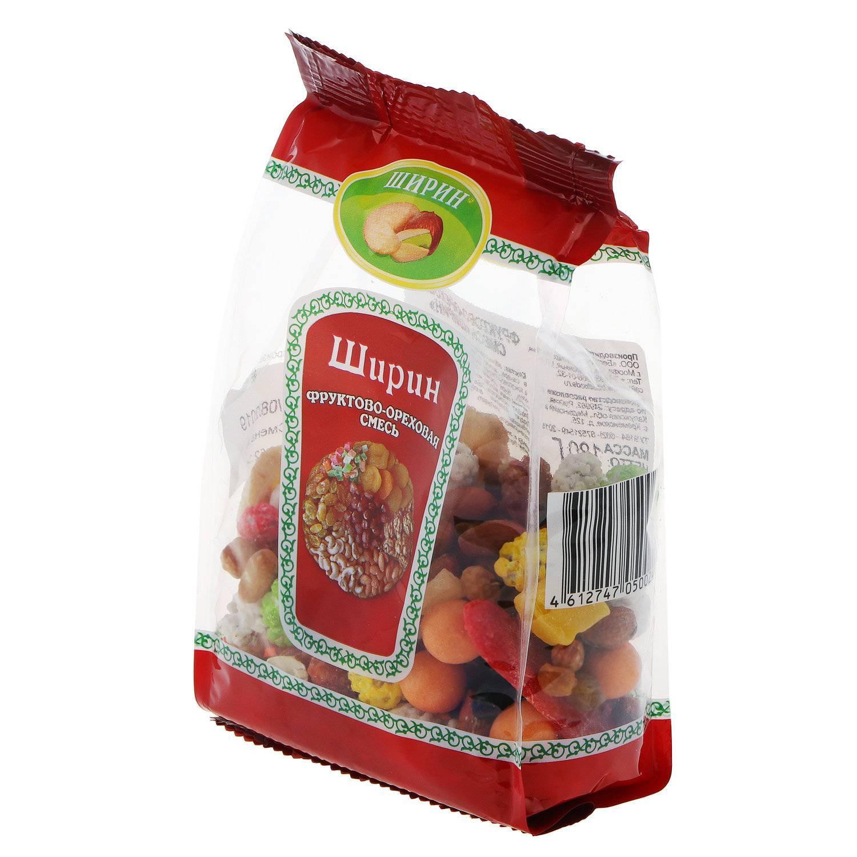 Фруктово-ореховая смесь Ширин